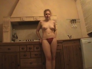 Hottie stands doggy fashion with an increment of gets fucked very hard.