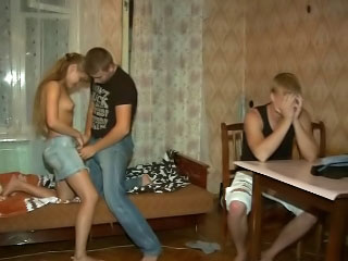 Amazing teenaged obtaining gaped hard in their way hot pussy by lucky guy